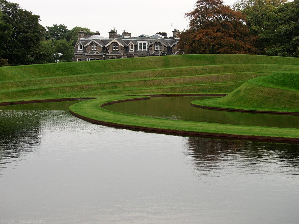 Charles Jencks earthworks