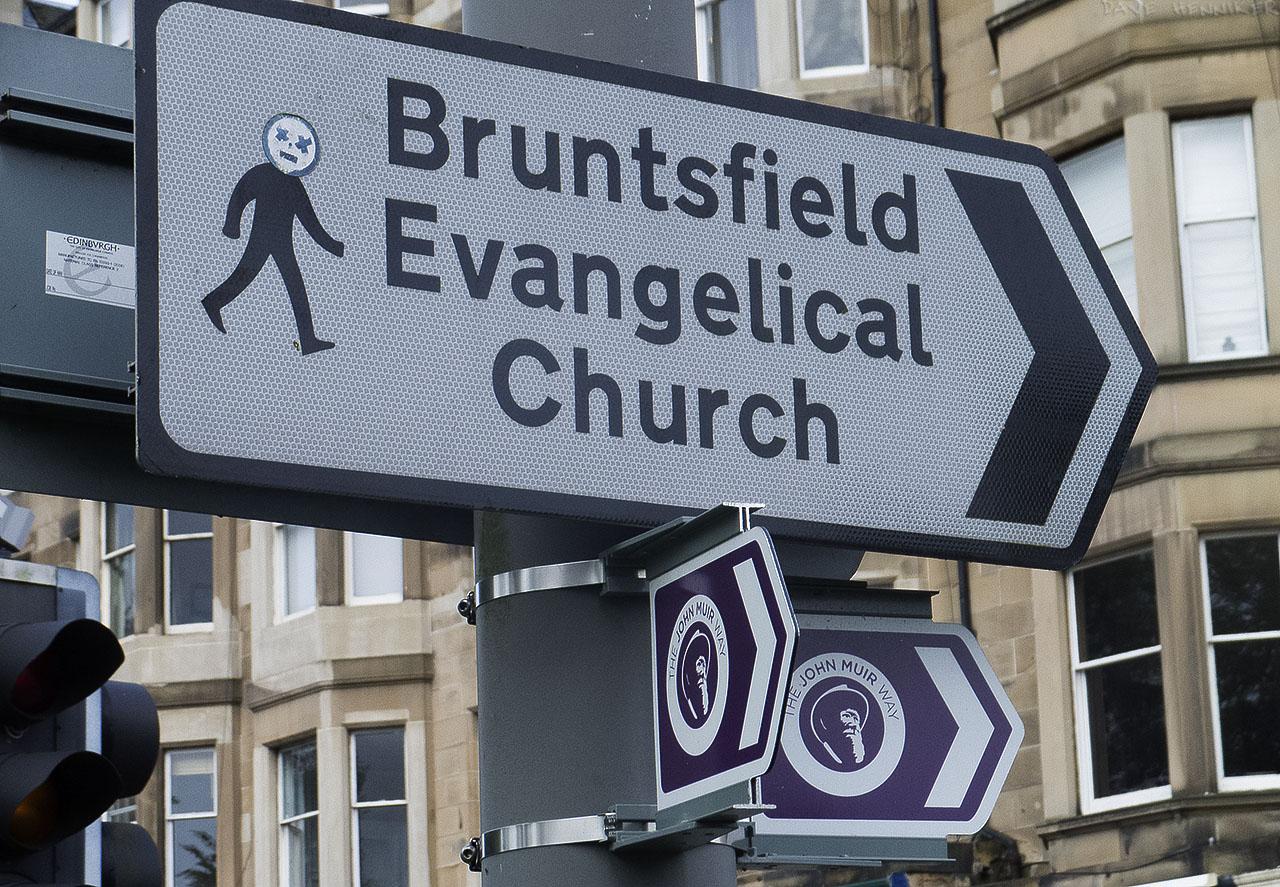 BruntsfieldPlaceSign