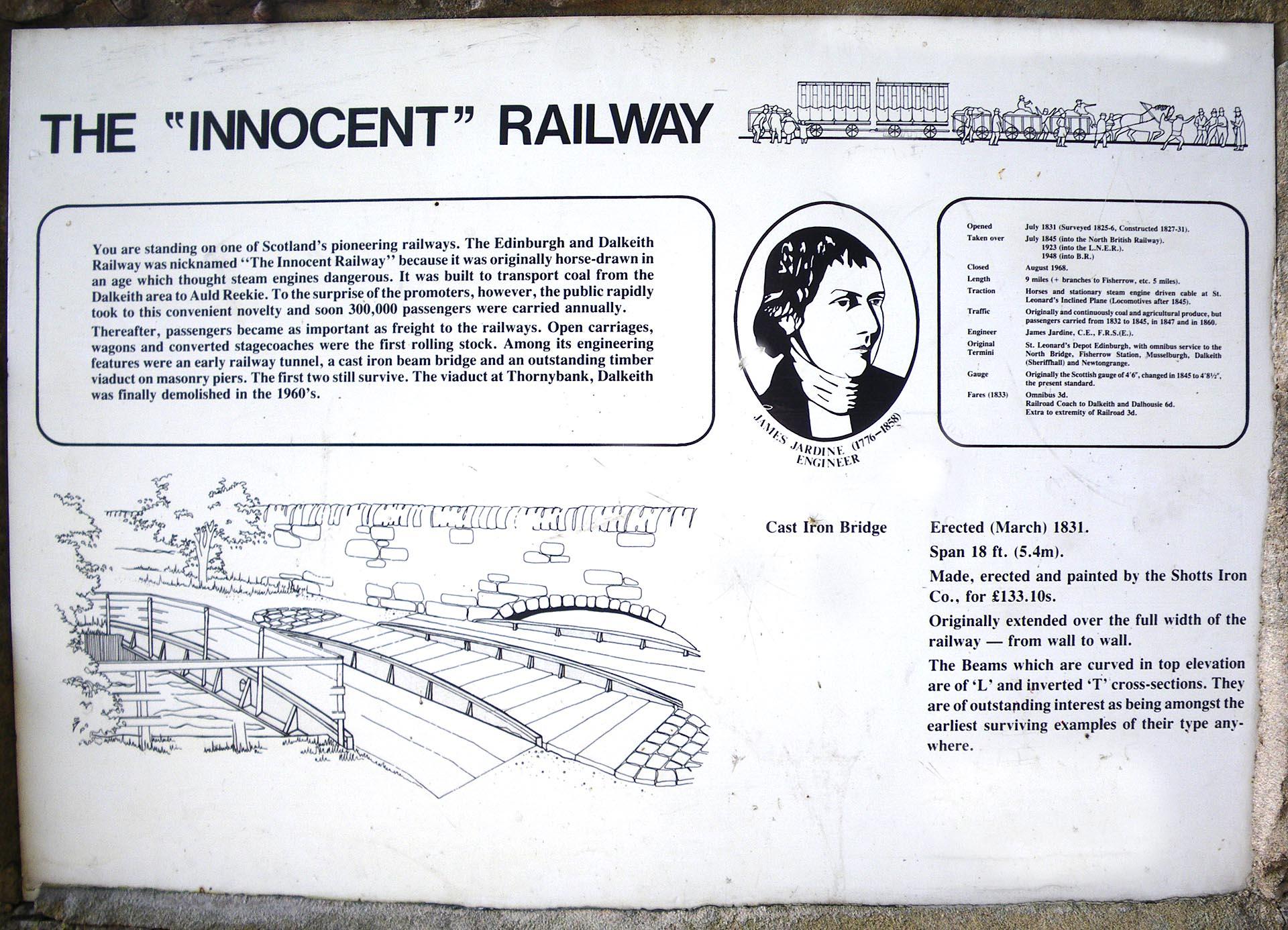 InnocentRailwayE-End_sign