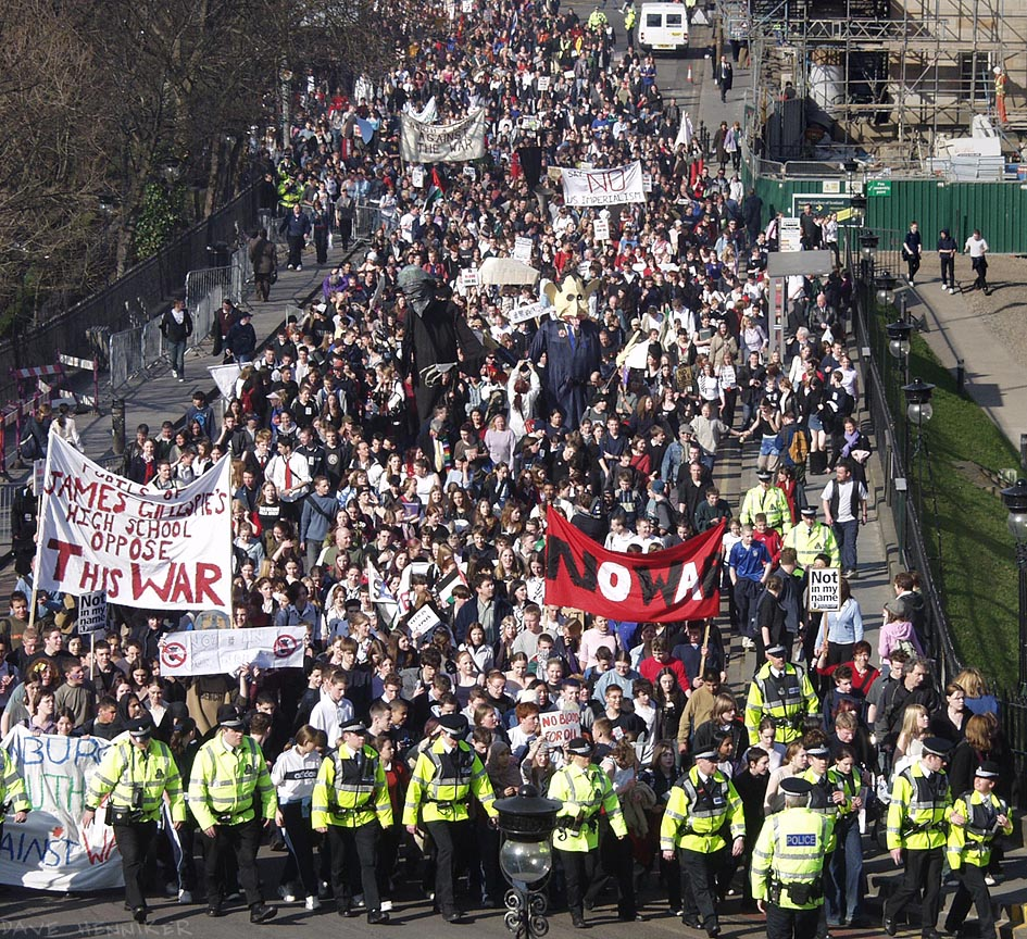 Anti-war Demo19 March 2003