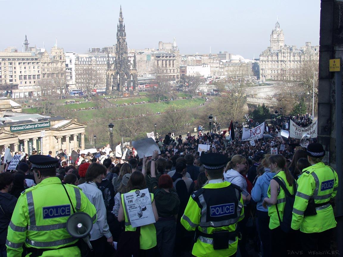 Anti-war Demo19 March 2003