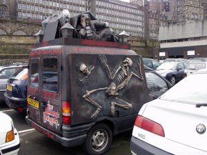 Edinburgh Dungeon's van