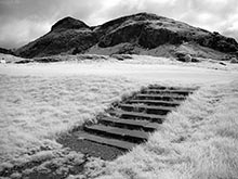 Arthur's Seat in Infrared