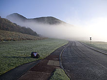 Arthur's Seat in the Mist