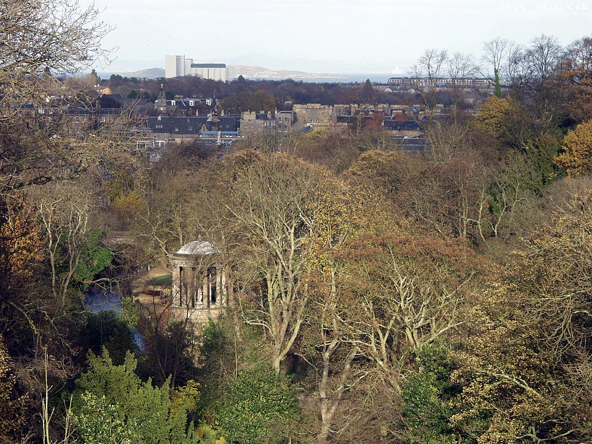 Dean Bridge view