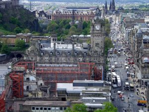 From Nelson Monument