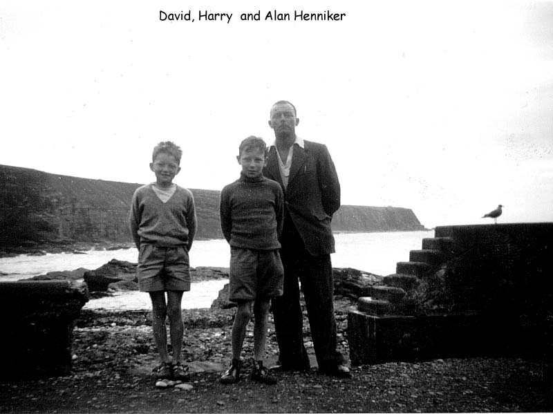 David & Harry & Dad
