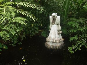 woman botanist's dress