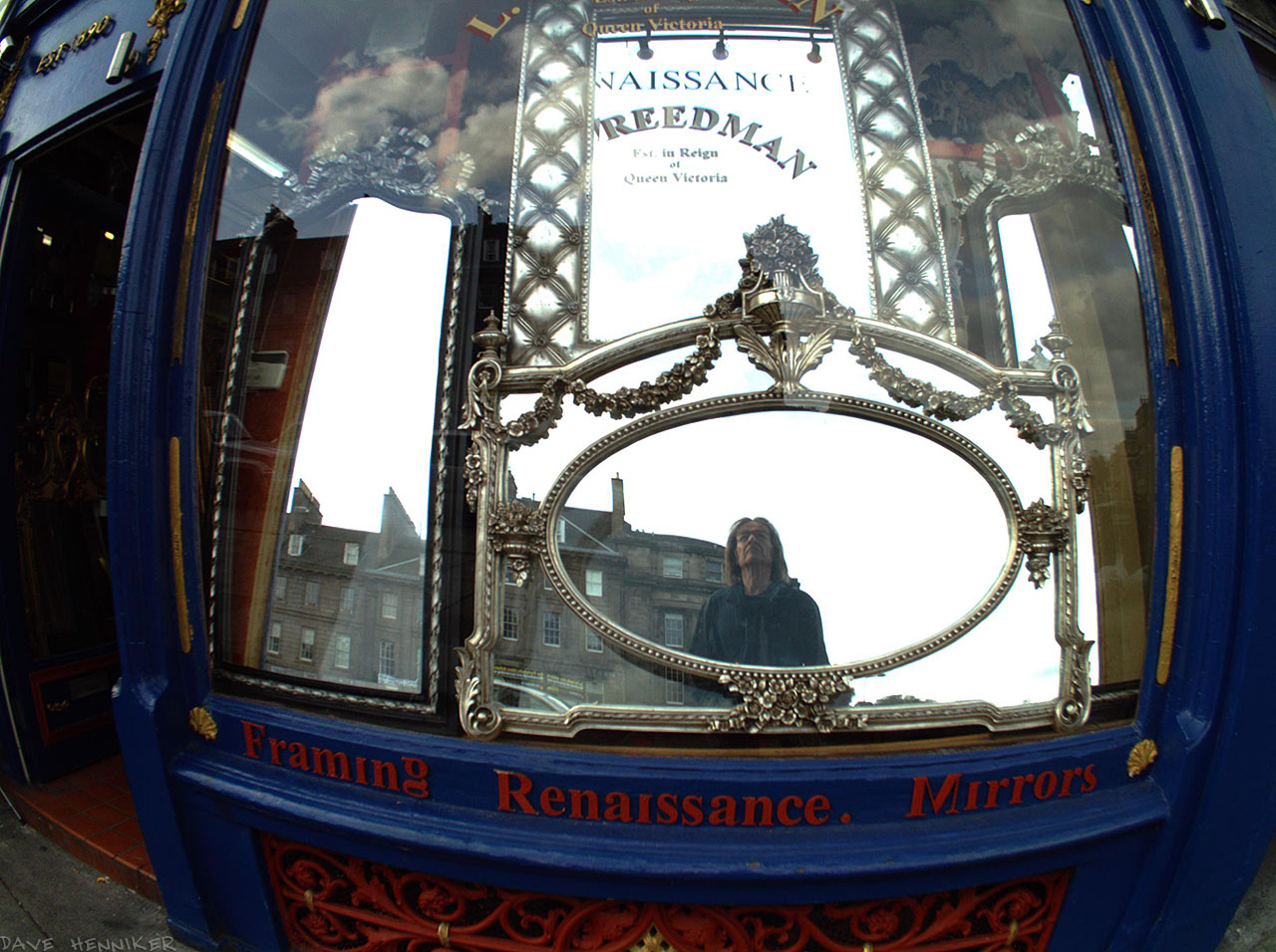 Another Autographer picture with a reflection of yours truly.