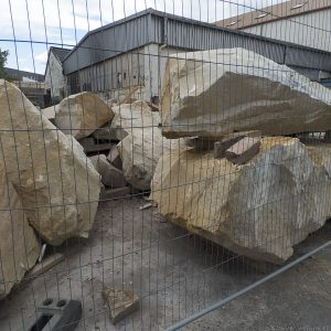 These big rocks sure look heavy.