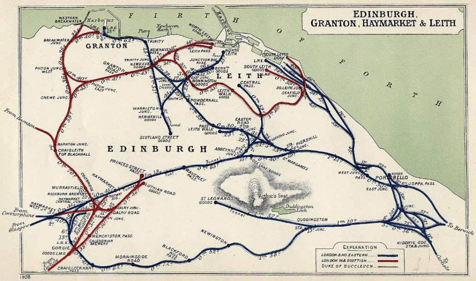 Edinburgh Railways