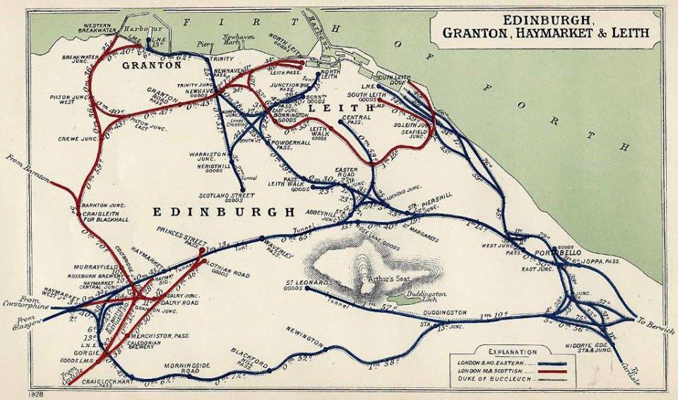 Edinburgh Railways