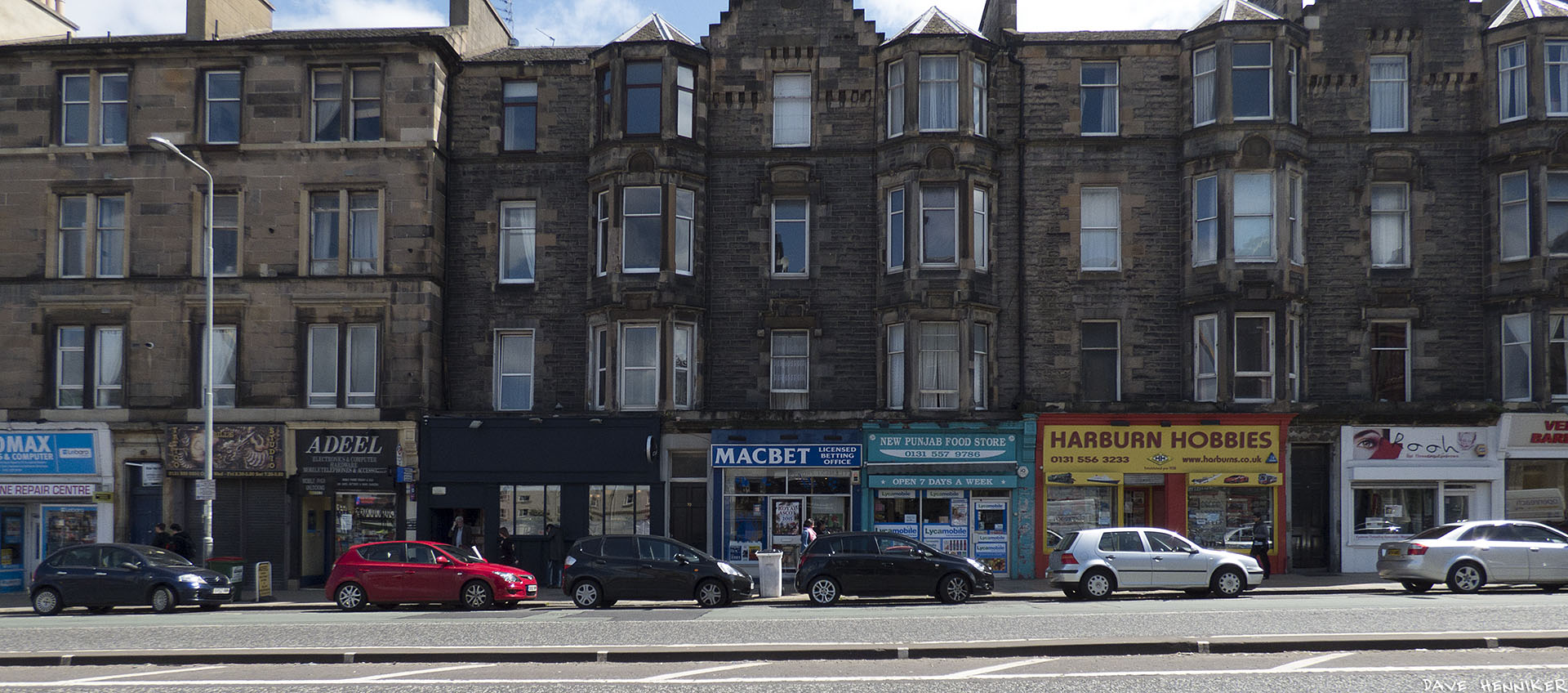 Harburn Hobbies has lasted longer than other shops hereabouts.