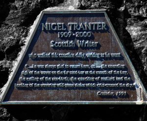 NigelTranterPlaque