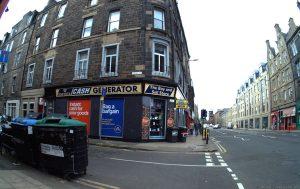 Pirrie Street is a cul-de-dac off Great Junction Street.