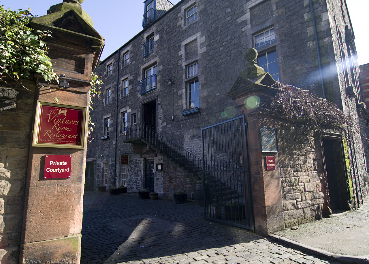 Nearby is The Vintners Rooms Restaurant and its private courtyard.