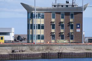 This building is the Forth Navigation Service & Harbour Office.