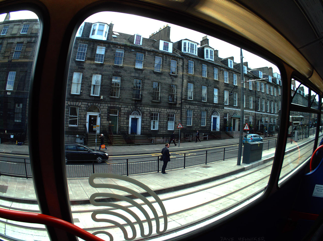 York Place isn't Leith or Leith Street but it's where I got off the bus for another walk down Leith Walk. This is an Autographer picture, taken automatically according to an algorithm and a few sensors.