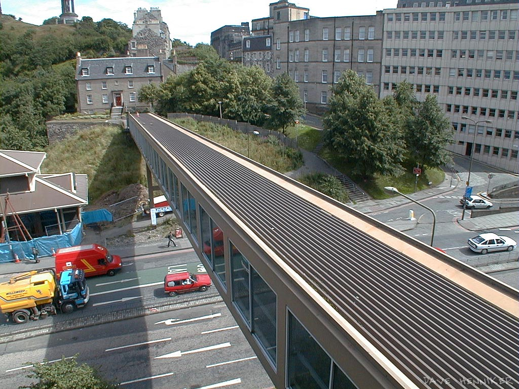 Added later, a photo of the old bridge, taken in 2001.