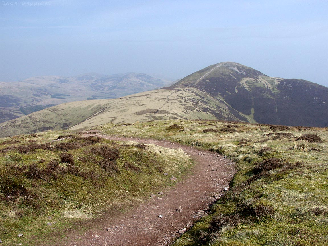 Carnethy Hill from Scald Law