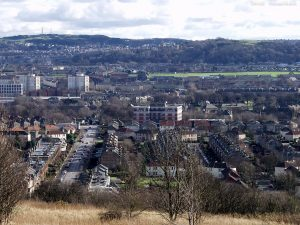 Views from Corstorphine Hill