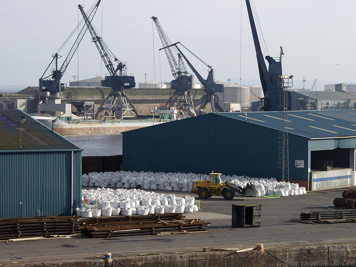 Another consignment of cocaine for Leith's well-to-do incomers waits on the dockside. (just kidding)
