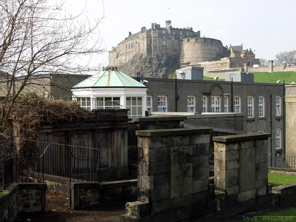 As seen from Greyfriars