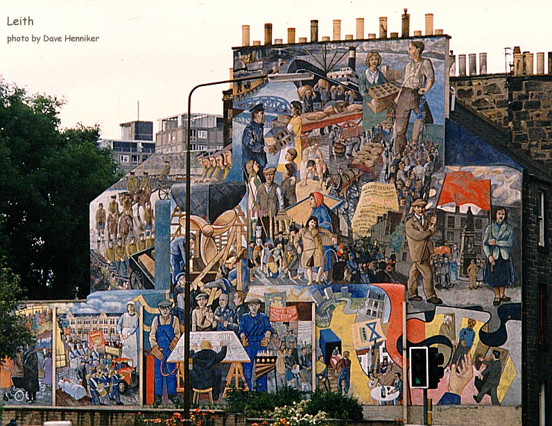 This is the mural on the corner of Ferry Road and North Junction Street.