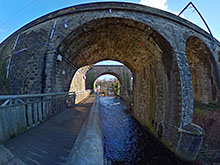 Slateford Aqueducts / Viaduct 360º