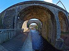 Slateford Aqueducts / Viaduct 360º