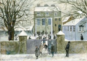 school-in-snow