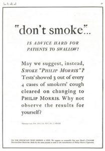 tobacco ad pseudoscience13