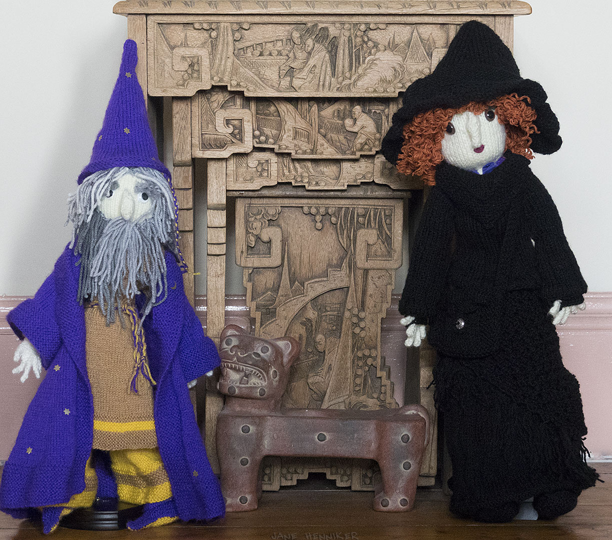 Wizard and new Witch friend