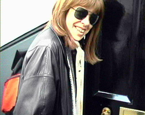 Jane at the door