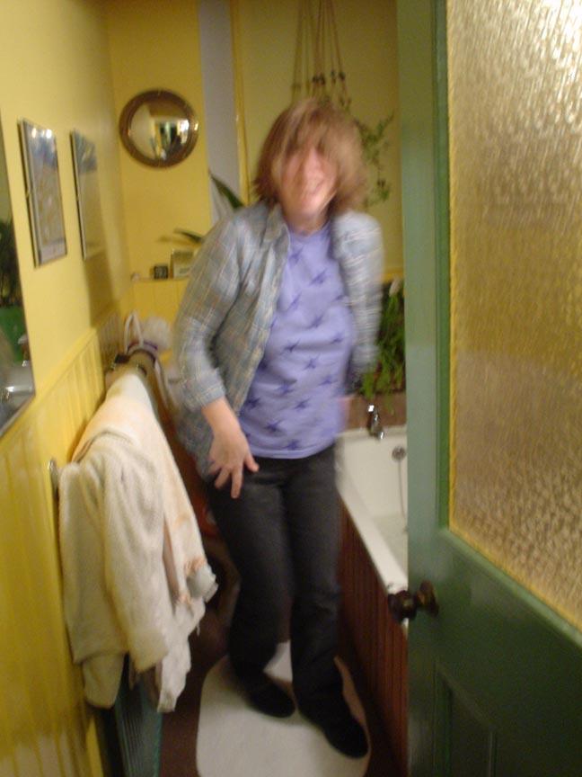Jane blur bathroom
