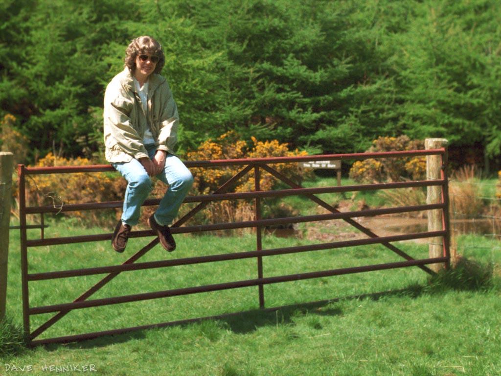 jane on gate