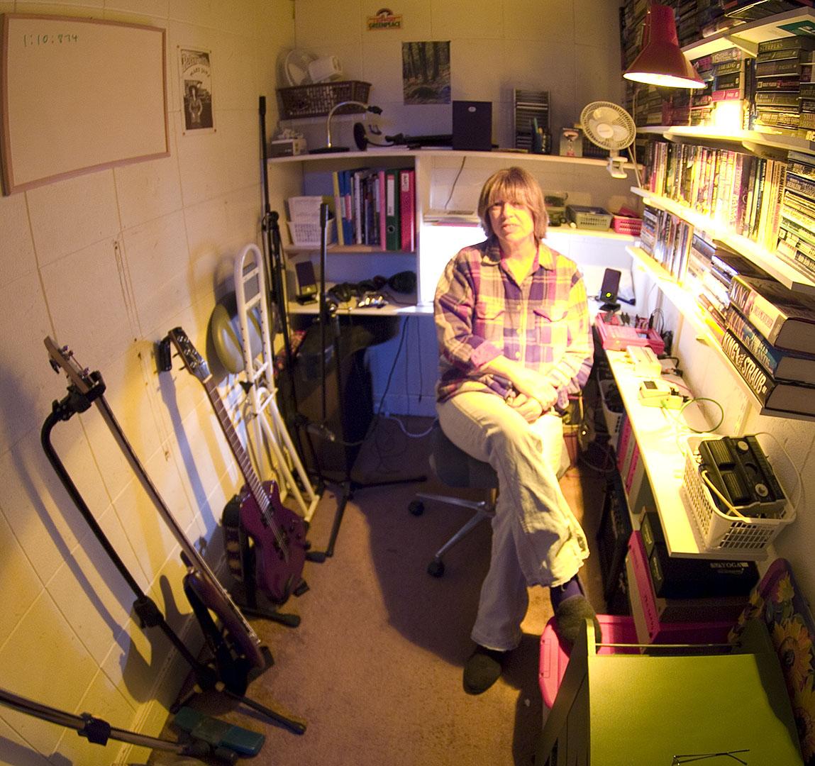 Jane in her Studio