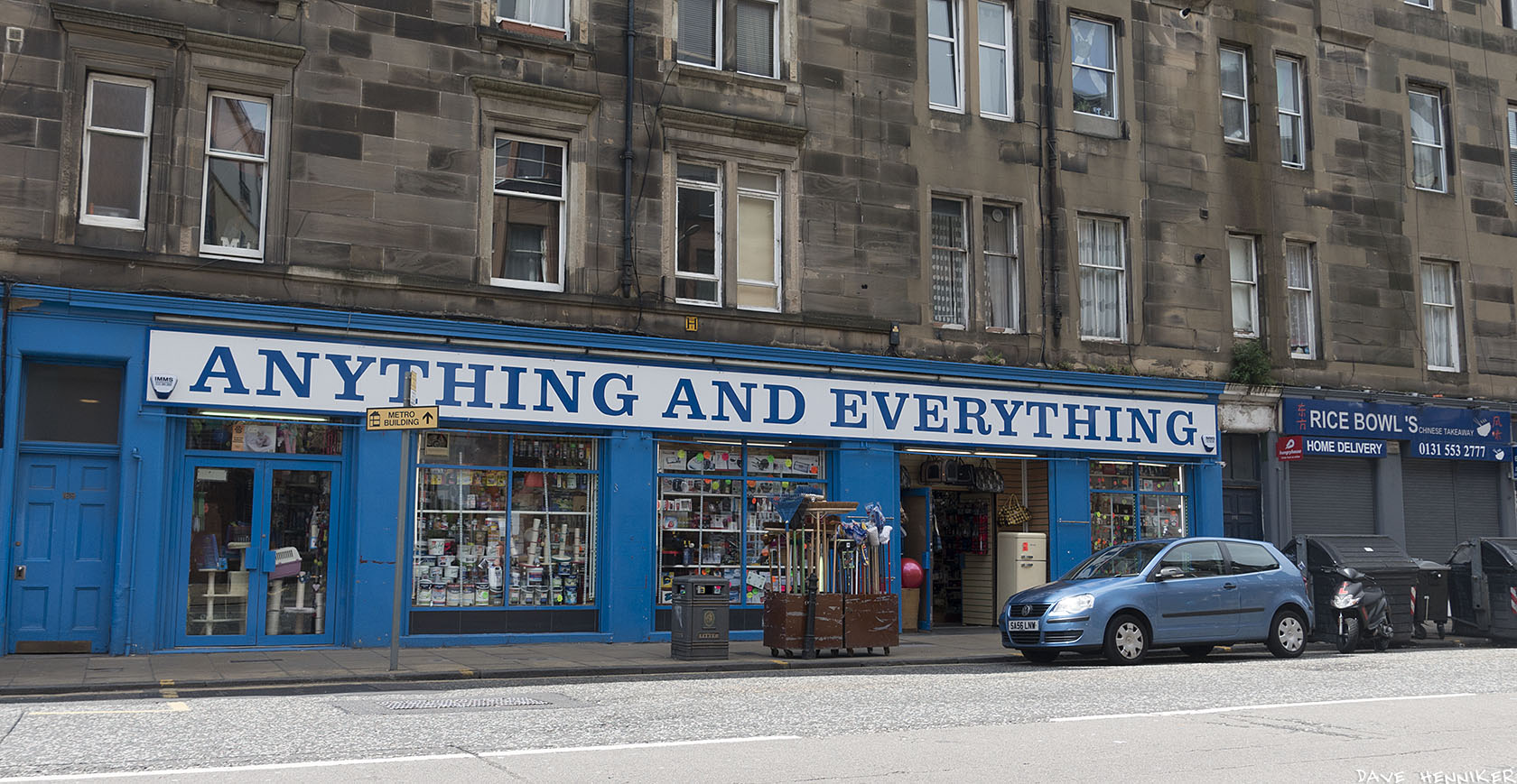 I photographed this shop in Great Junction Street just before taking the photos on new, separate page Water of Leith June 2017.