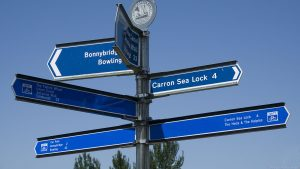 Union Canal signs