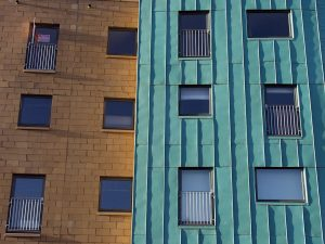 Abbeyhill copper clad building