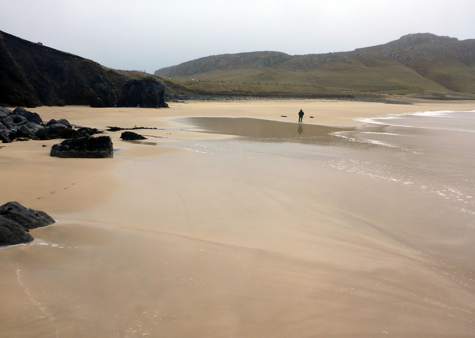 97 Man on Dalmore beach