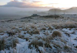05 Mist over frozen Loch Deasport