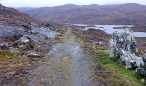 25 Old road Tarbert towards Mharaig