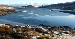 29 Loch Deasport with ice