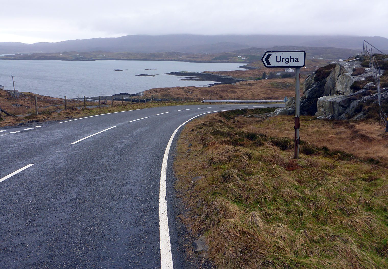 29 Sign to Urgha & Loch a Siar