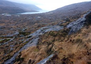 36 Loch an Tairbeairt from Faire an Teolaig