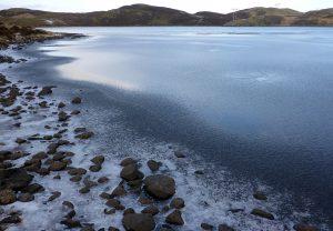 69 Melting ice Loch Deasport