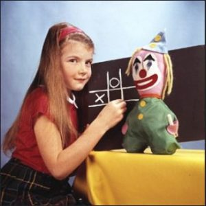 Test Card girl