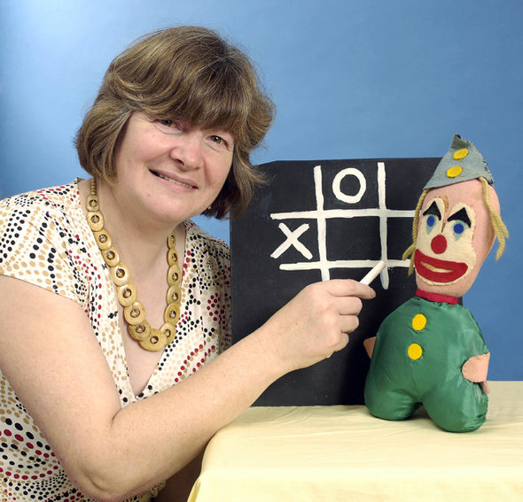 Test Card girl as adult