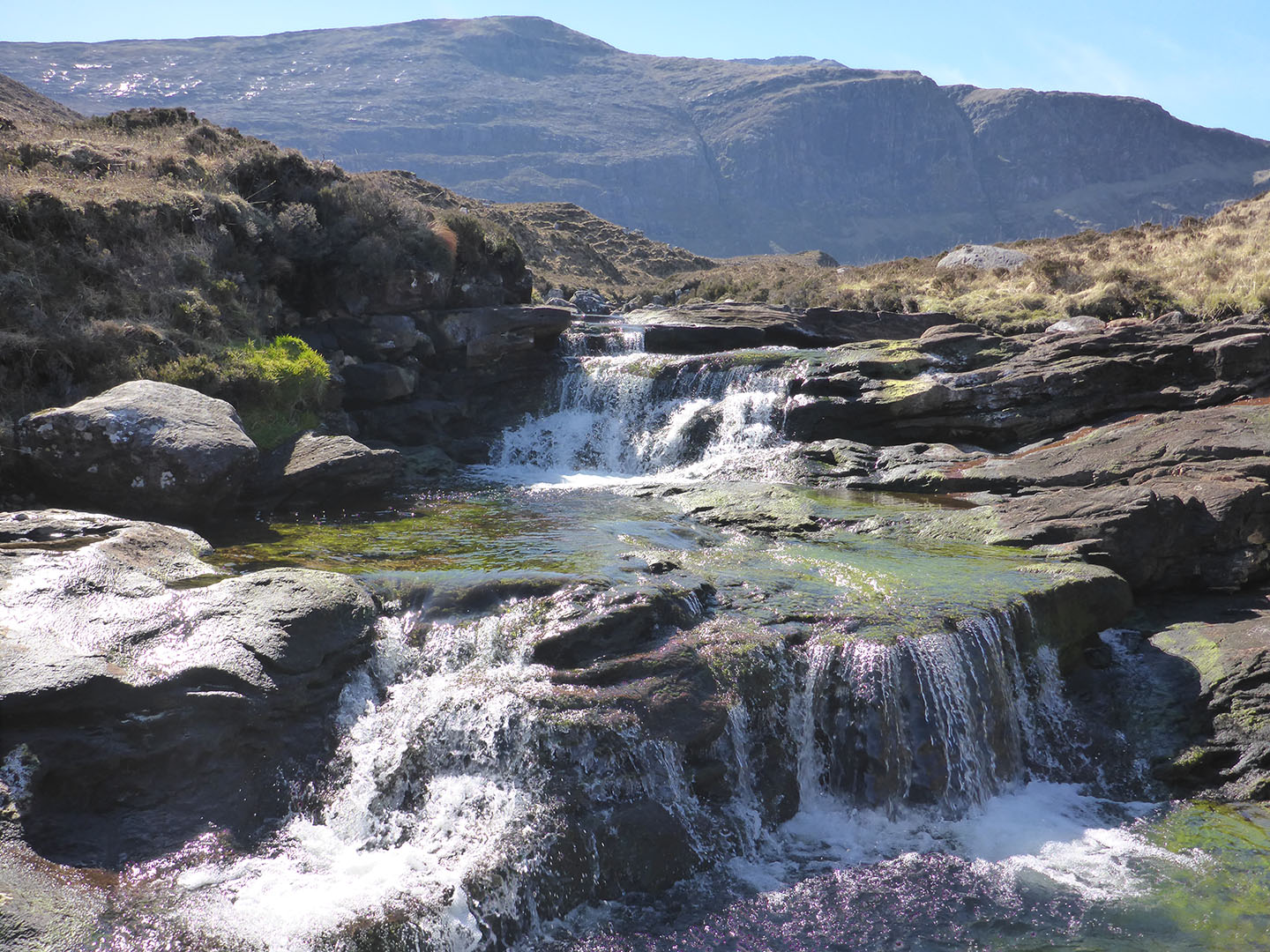 42 Scaladale River waterfall